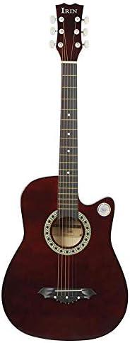 アコースティックギター 大人の初心者のためのアコースティックギターアコースティックギター 初心者セット (色 : E, Size : 41 inches)