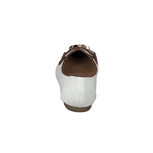 Linea Scarpa Ferrara Laste Season Restposten Loafer Damen Weiß