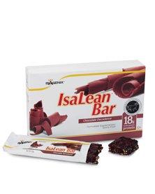 ISAGENIX IsaLean Bars Chocolate Peanut Crunch 10 Bars x 2.29 oz (65g)
