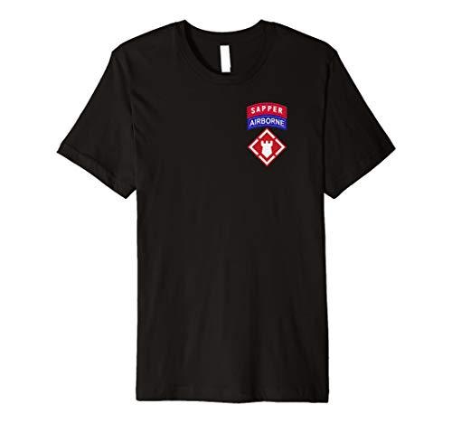 20th Engineer Brigade Shirt - 20th EN Airborne Sapper -