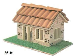 Model brick house