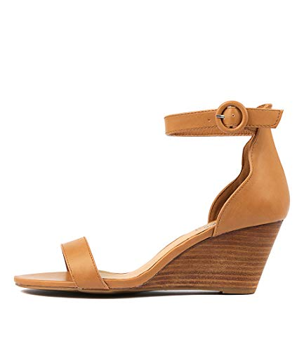 I LOVE BILLY Miriah Womens Shoes Medium Heels Summer Wedges Tan Smooth