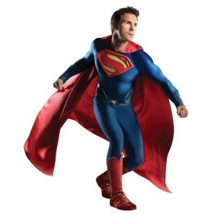 Rubie's Costume Co Men's Superman Man Of Steel Grand Heritage Costume, Multi, One Size -