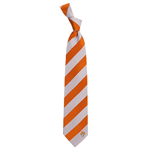 Eagles Wings Oklahoma State University Regiment Woven Silk Tie