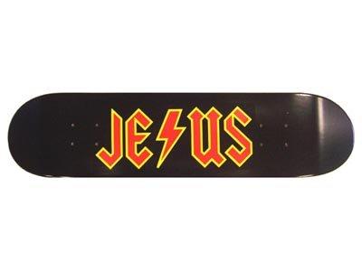 Moose Jesus Rocker Skateboard Deck 7.75
