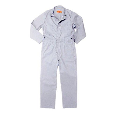 Pinnacle Textile CV10 7.5 OZ Twill 65//35 Polyester//Cotton COVERALL-Sizes-54-White