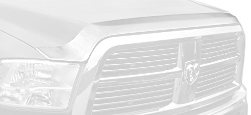 Chrome Aeroskin Hood Shield - Auto Ventshade 622051 Aeroskin Flush Mount Chrome Hood Protector for 2010-2018 Dodge Ram 2500, 3500