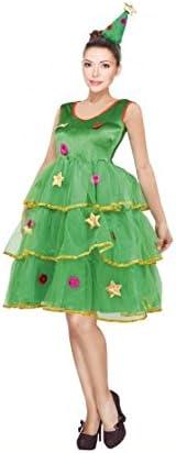 Disfraz Árbol de Navidad para mujer (M): Amazon.es: Juguetes y juegos