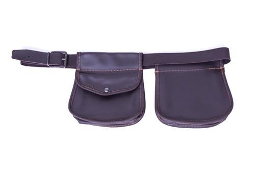 Tasche rebhuhnjagd Leder mit hochwertiger 40Leder Halterung