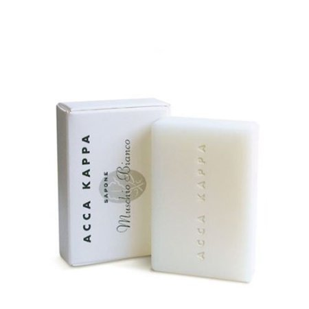 Acca Kappa Soap, White Moss - Set of 3, 3.5 Oz (100 G) Soaps Acca Kappa Vegetable Soap