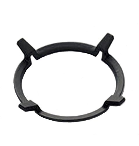 Wok Stand - Universal Non Slip Black Cast Iron Stove Trivets for Kitchen Wok Support Ring Cooktop Range Pan Holder Stand Stove Rack Milk Pot Holder for Gas Hob - Gas Stove accessories
