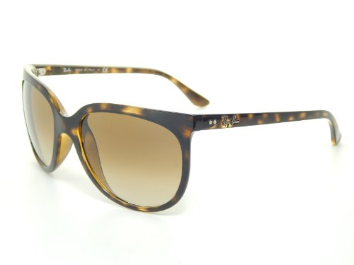 New Ray Ban Cats1000 RB4126 710/51 Demi Brown/Brown Gradient Lens 57mm - 1000 Ray Cats Ban