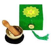 2 inch Heart Chakra Mini Meditation Bowl in Gift Box