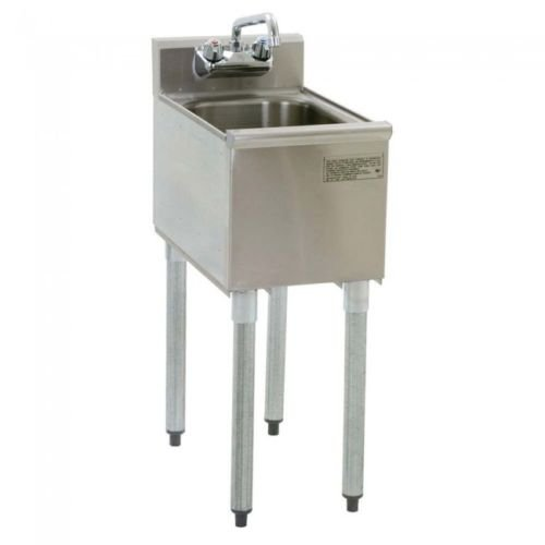 Stainless Steel Single One Compartment Under Bar Sink with Faucet