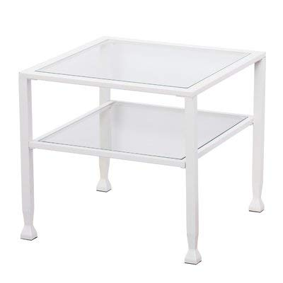 Surprising Amazon Com Metal Coffee Table With Glass Top Square Download Free Architecture Designs Ferenbritishbridgeorg