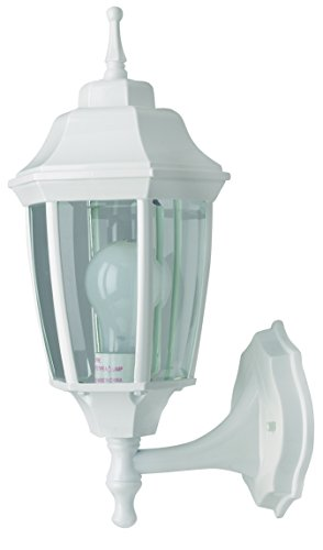 - Boston Harbor BRT-BPP1611-WH3L 6299671 Dimmable Outdoor Lantern, (1) 60/13 W Medium A19/Cfl Lamp, White