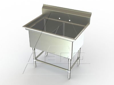 Aero Aerospec Sink 2-bowl 24