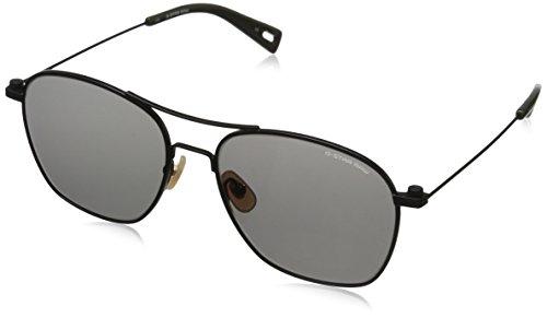 G-Star Raw Men's GS110S Aviator Sunglasses, Black Semi Matte, 56 - Sunglasses Mens H&m