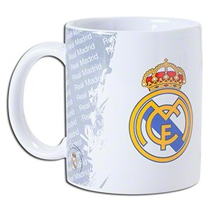 Real Madrid Mug – Official Coffee/Tea Mug – Perfect Real Madrid Gift – Imported – For Men and Women – Quality Team Crest Design – DiZiSports Store