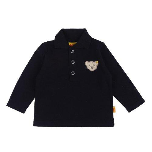 Steiff Unisex - Baby Sweatshirt 0006831, Gr. 80, Blau (3032)
