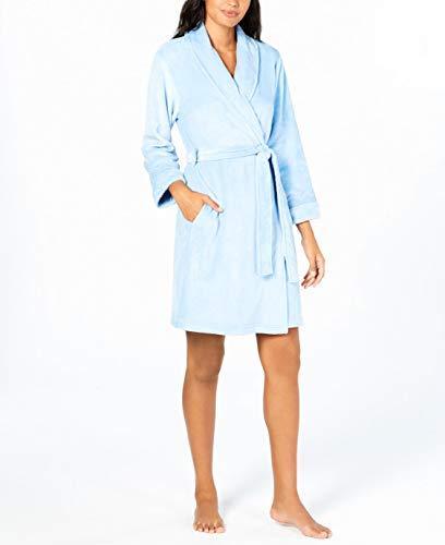 Charter Club Super-Soft Robe Placid Blue Size Medium