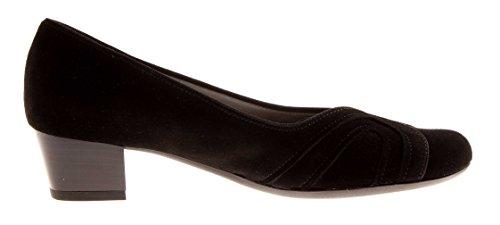 Damenschuhe Lederpumps Moro Schuhe Schwarz Pumps ara Wildleder Schwarz x6wqZx