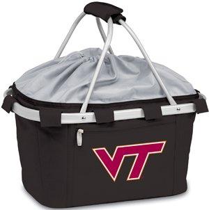 NCAA Virginia Tech Hokies Digital Print Metro Basket, One Size, Black