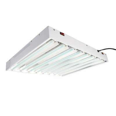 T5 Tube Commercial Grow Light System with Bulb Size / Bulb: 2 Feet / 8