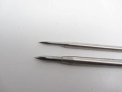 2 Grobet Tungsten Carbide Tipped Burnisher Intaglio Etching Printmaking