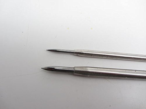 2 Grobet Tungsten Carbide Tipped Burnisher Intaglio Etching Printmaking