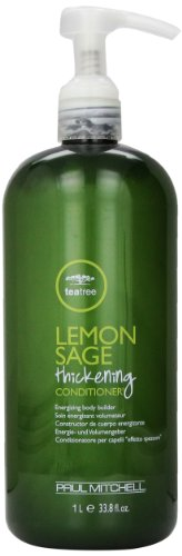 Tea Tree Lemon Sage Thickening Conditioner by Paul Mitchell, 33.8 Ounce (Tree Conditioner Tea)