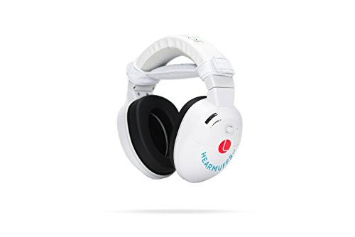 Lucid Audio HearMuffs SOOTHE Baby Hearing Protection (Over-the-ear Electronic Ear Muffs with Sound Protection and Amplification Features Newborn-8 Years)