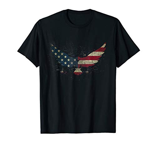 American Flag Eagle Shirt For Men Women Kids for 4th of July