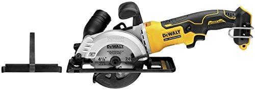 DEWALT DCS571B Atomic 20V Max Brushless 4-1 2 in. Cordless Circular Saw Tool Only