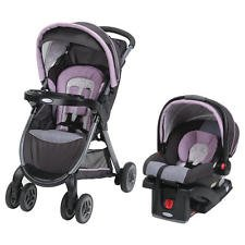 FastAction Fold Click Connect Travel System, Car Seat Str...