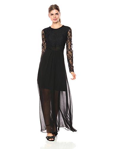 Metallic One Shoulder Gown - 5