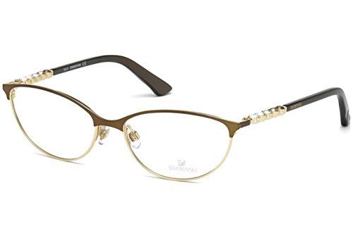 SWAROVSKI Eyeglasses SK5139 036 Shiny Dark Bronze 55MM (Daniel Swarovski)