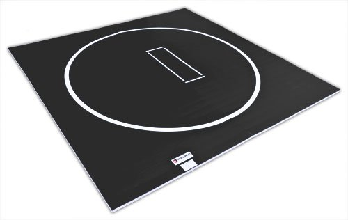 Dollamur 10'x10' Flexi-Roll Wrestling Home Mat (Black)