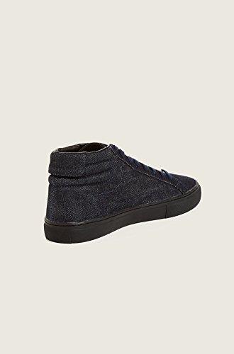 True Religion Hombres Hex V1 High Top Denim Zapatos En Indigo