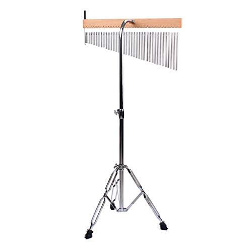 gazechimp Chimes Hand-Held Bar Chime with Adjustable Tripod Stand and Stick