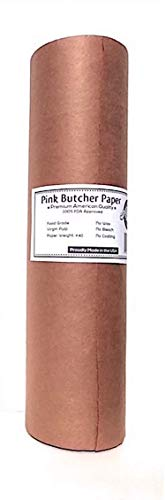 Anders General Store Pink Butcher Kraft Paper Roll - 18