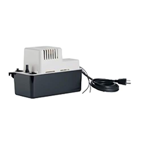 Little Giant 554455 Vcma-20 Series Condensate Removal Pump with Safety Switch, 7'' Height, 5'' Width, 11'' Length, 230V by LITTLE GIANT (Image #1)