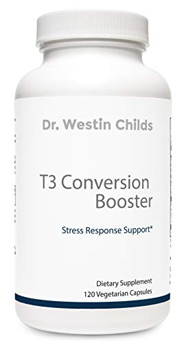 (T3 Conversion Booster - Naturally Support T4 to T3 Conversion, Thyroid Biosynthesis and Cellular Sensitivity - Vegetarian & Non-GMO - with Anti-inflammatory & Anti-oxidant Support, 60 Day Supply)