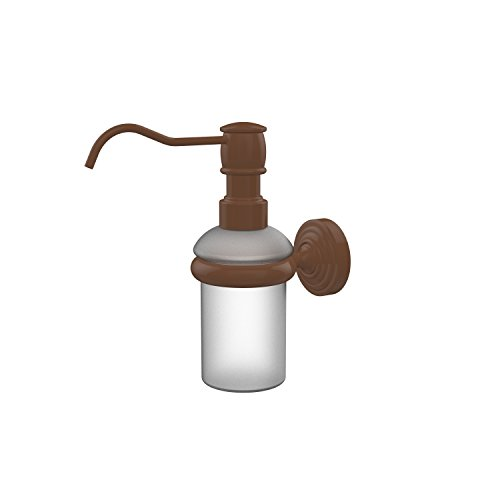 Allied Brass WP-60-ABZ Waverly Place Collection Wall Mounted Soap Dispenser Antique Bronze ()