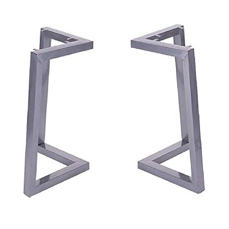 ZXLL Patas de Metal para Muebles/Patas de Mesa de Hierro/Acero, Patas de Mesa de Comedor en Forma de V, Patas de Mesa Ajustables de 72 cm, adecuadas ...