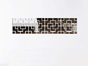 feeb62667 Espelho Decorativo Em Acrílico Estilo Diagonal 33 X 1