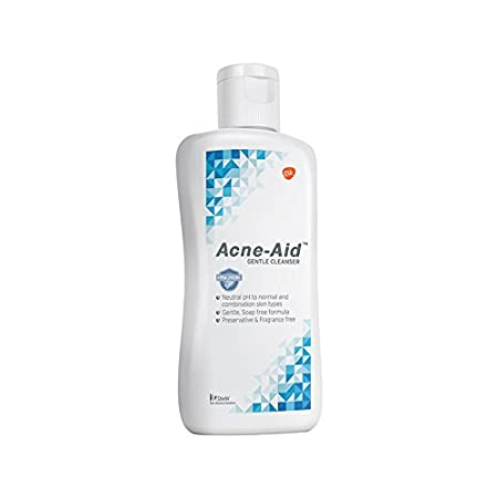 gentle cleanser for acne