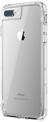new product 007ad 2ad49 Griffin Survivor Clear Case Cover for iPhone 8 Plus, Clear