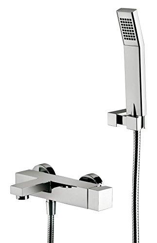 Miscelatore vasca esterno ELLE Paffoni EL023 - con duplex doccia a snodo - con doccetta e flessibile