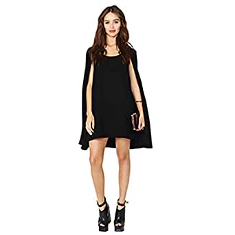 European Style Original Cloak Design Black Party Drerss For Women(jl15304m)